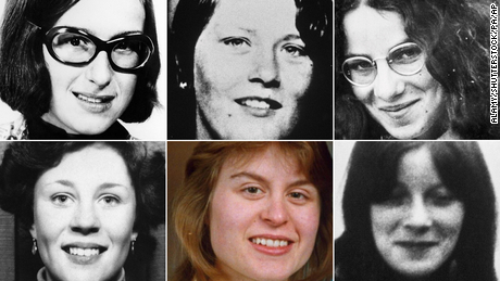 Top row from left: Therese Siegenthaler, Carol Ann Cooper, Lucy Partington; Bottom row from left: Alison Chambers, Shirley Robinson, Ann McFall