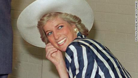 Diana, Princess of Wales in 1988