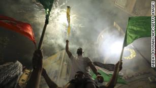 Israel and Palestinian militant group Hamas agree to a ceasefire