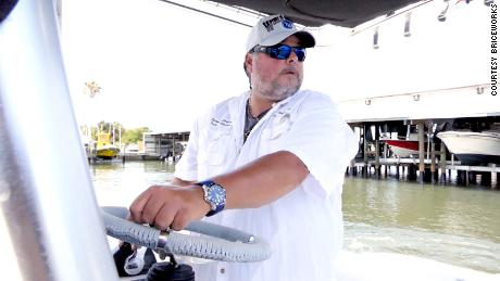 Rafael Rios, seen in photo, has owned a charter fishing boat out of St. Petersburg for 15 years and has been fishing the waters of Tampa Bay for 40 years.