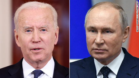Biden says he will bring up human rights abuses with Putin during meeting next month