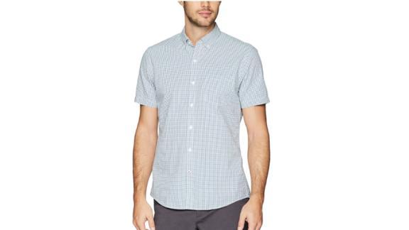Goodthreads Standard Fit Kurzarm Seersucker Shirt