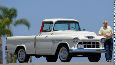 The Chevrolet Cameo Carrier, like the one in this 2015 photo with owner, Jim Ellis, introduced more stylish trucks to the market.