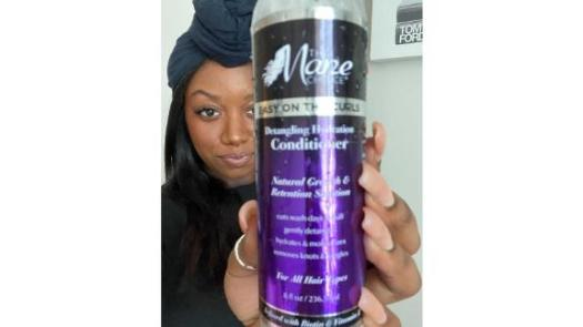 The Mane Choice Easy on the Curls Conditioner