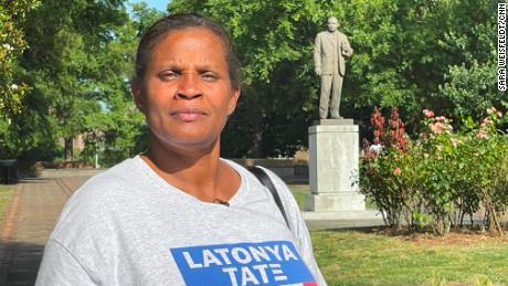LaTonya Tate says she is driven to continue the work of her ancestors and reached a breaking point when Floyd was killed.