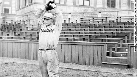 A young Lou Gehrig started playing baseball at Columbia University in New York, where he was spotted by a Yankees scout.