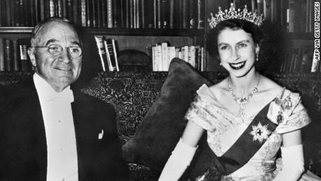 She wasn't Queen yet, but during a state visit to the United States in 1951, Elizabeth and Prince Philip, were received by former President Harry S. Truman and his wife, Bess. Truman is the only US President that Elizabeth met while she was a princess.