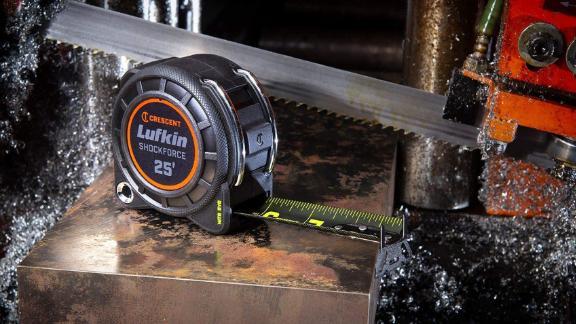 Crescent Lufkin Shockforce Nite Eye 25-Foot Tape Measure