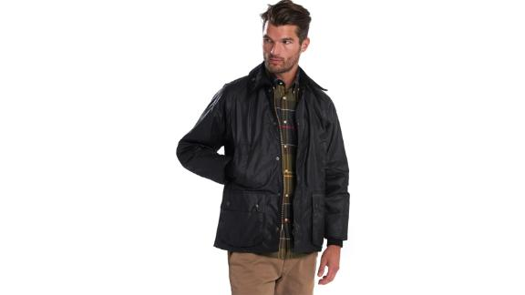 Barbour Bedale Regular Fit Waxed Cotton Jacket