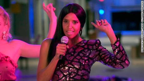 Reneé Elise Goldsberry in the Peacock series 'Girls5eva' (Heidi Gutman/Peacock)