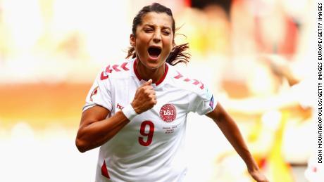 Nadia Nadim has represented the Danish national team since 2009.