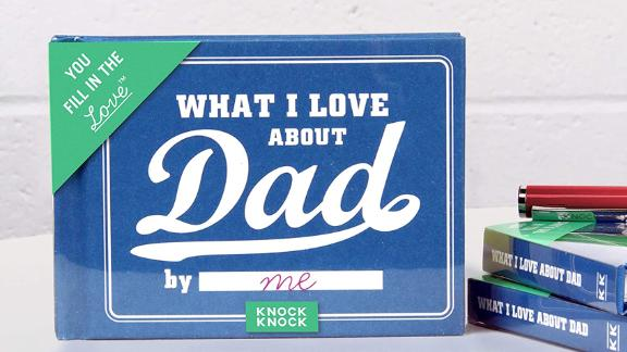 Knock Knock What I Love About Dad Fill-in-the-Blank Journal