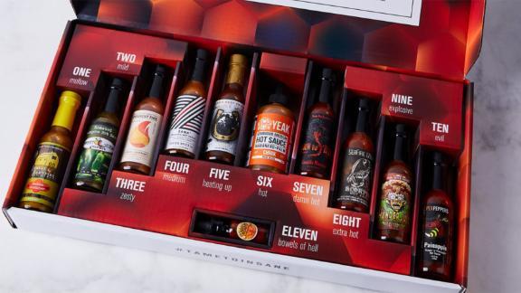 Tame to Insane Hot Sauce Box