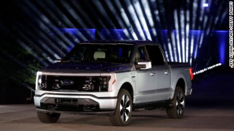 The all-electric Ford F-150 Lightning weighs around 1,600 more than a similar gasoline truck.