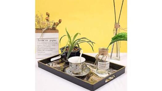 Decorative Coffee Table Tray