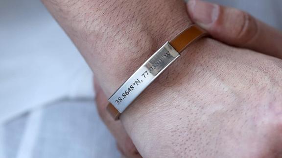 Mignon and Mignon Personalized Leather Bracelet