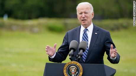 COVID-19 .  Biden joins the club of world leaders in the G7 with a call for the war effort against