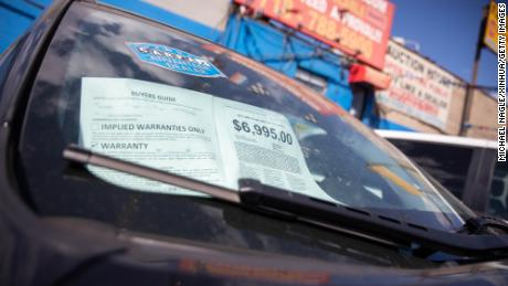 Tight supplies of used cars is driving up prices and feeding overall inflation.