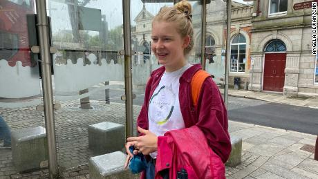 Martha Richards, a Redruth resident who has just finished high school, doesn't think the G7 is going to do much for her city.