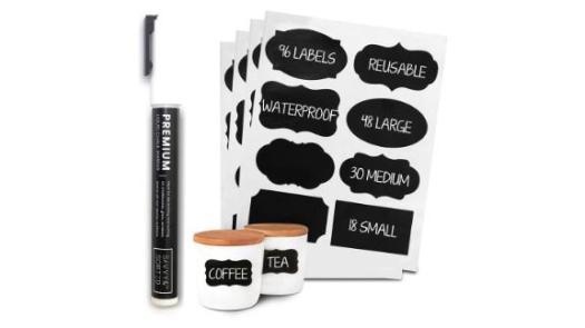 Premium Chalkboard Labels