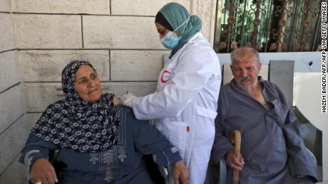 Israel transfers at least 1 million COVID-19 vaccines to Palestinians in swap deal