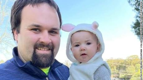 Cody Fox and his daughter.