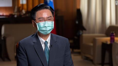 Taiwan Foreign Minister Joseph Wu has accused China of conducting hybrid warfare.