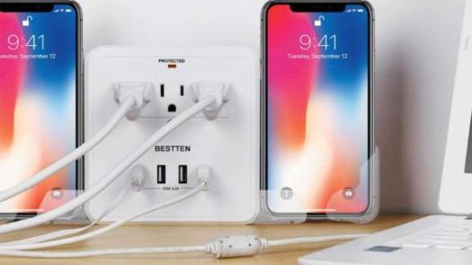 Wall Mount Multi Outlet Extender