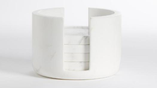 Grecian Marble Coaster Set