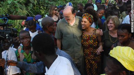 Culberson arrives  in Bumpe, Sierra Leone.