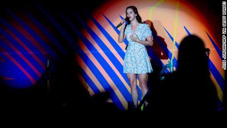 Lana Del Rey performs at the Benicàssim International Music Festival in Benicàssim, Spain, July 20, 2019.