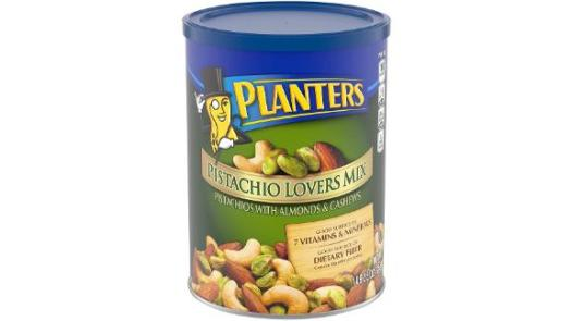 Planters Pistachio Lover's Mix Resealable Canister