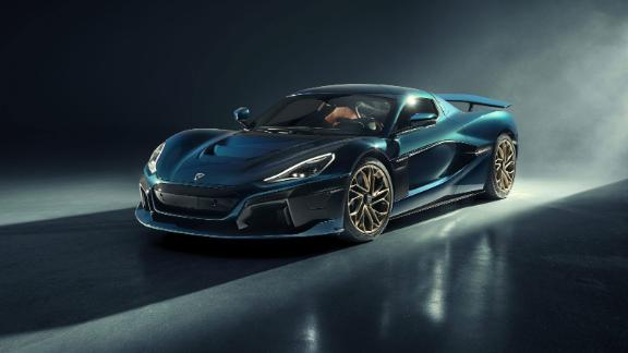The Rimac Nevera is an all-electric supercar.