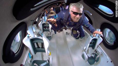 Richard Branson's disappointing space jaunt