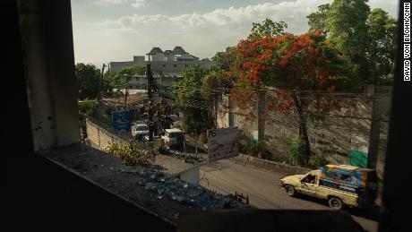 Haiti President assassins gun battle