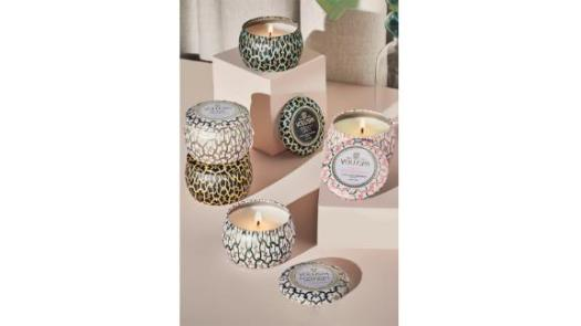 Voluspa Maison Set of 5 Tin Candles