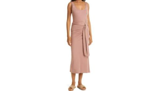 Vince Pima Cotton Sleeveless Dress