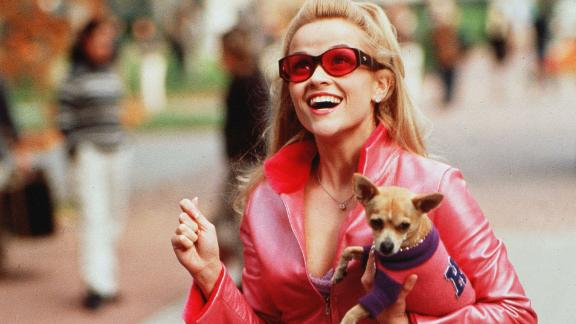 """Reese Witherspoon as Elle Woods in """"Legally Blonde."""""""
