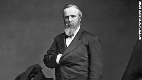 President Rutherford B. Hayes pulled federal troops who were helping support Reconstruction efforts in the South.