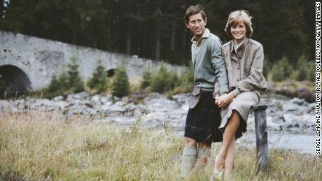 Charles and Diana spent part of their honeymoon in Scotland.
