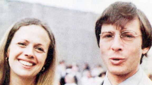 An undated photo shows Kathie and Robert Durst. Her family has said Robert Durst is to blame for her disappearance, and they hailed his March 2015 arrest for Berman's death as a sign they could be close to getting answers.