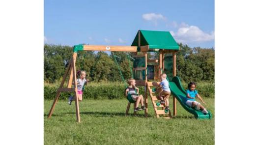 Backyard Discovery Buckley Hill All Cedar Swing Set
