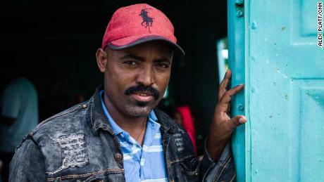 Tigray's community leader Gebretensae Gebrekristos, also known as Gerri, helps coordinate and document the restoration of the bodies in Sudan.