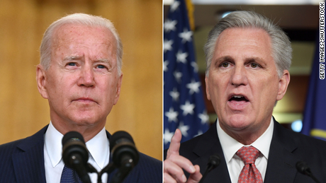 Republicans split on Biden's strategy to pay a political price for Afghanistan