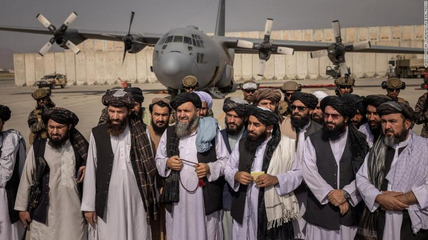 """<a href=""""https://www.cnn.com/2021/08/31/asia/taliban-control-kabul-airport-intl/index.html"""" target=""""_blank"""">Taliban officials declare victory</a> over the United States from the tarmac of Kabul's international airport on August 31. It was hours after <a href=""""https://www.cnn.com/2021/08/30/politics/us-military-withdraws-afghanistan/index.html"""" target=""""_blank"""">the last American troops left Afghanistan.</a>"""