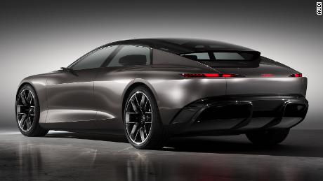 Audi intends to produce an electric car very much like this around the middle of this decade.