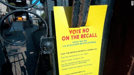 Groups opposed to the recall have been canvassing neighborhoods to encourage Latino voters to return their ballots.