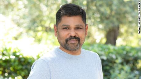 """Girish Mathrubootham, CEO and founder of Freshworks, a """"SaaS"""" or """"Software-as-a-service"""" company founded in Chennai, India."""