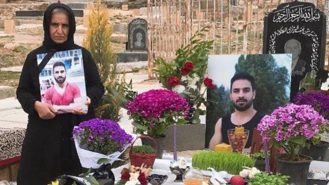 Executed Iranian wrestler Navid Afkari still offers 'message of freedom,' says mother