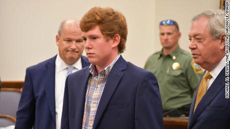 Paul Murdaugh at a court appearance.